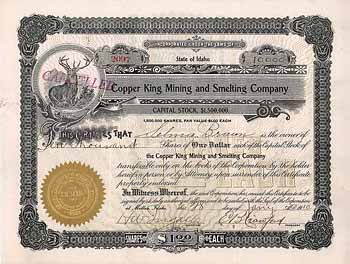 Copper King Mining and Smelting Co.