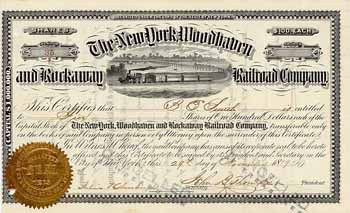 New York, Woodhaven & Rockaway Railroad