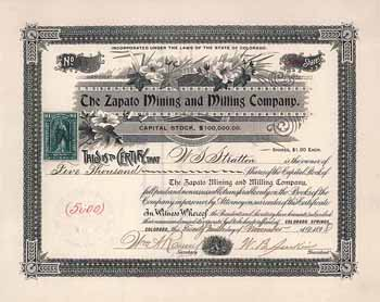 Zapato Mining & Milling Co.