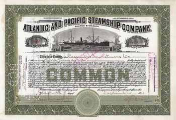 Atlantic and Pacific Steamship Co.