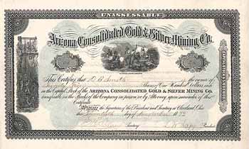 Arizona Consolidated Gold and Silver Mining Co.