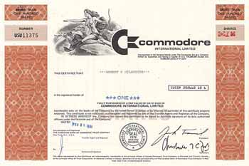Commodore International Ltd.