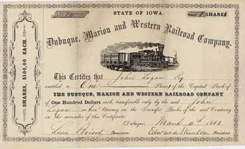 Dubuque, Marion & Western Railroad