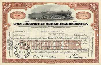 Lima Locomotive Works Inc.
