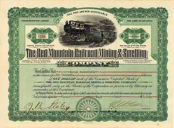 Red Mountain Railroad, Mining & Smelting Co.