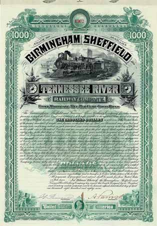 Birmingham, Sheffield & Tennessee River Railway