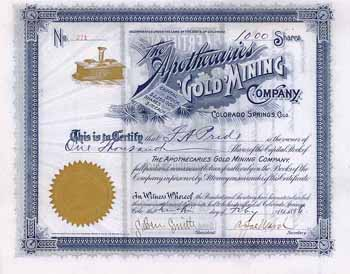 Apothecaries Gold Mining Co.