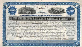 Washington & St. Mary`s Railroad