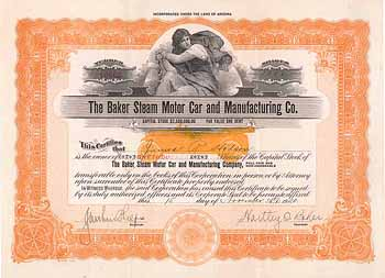Baker Steam Motor Car and Manufacturing Co.
