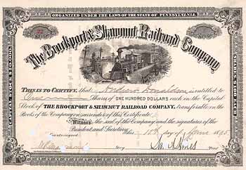 Brockport & Shawmut Railroad