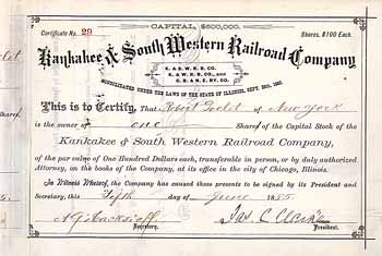 Kankakee & South Western Railroad Co.
