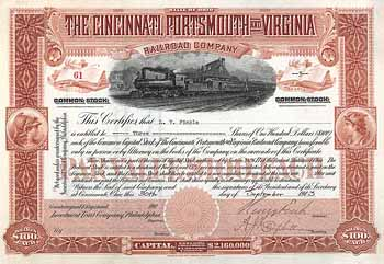 Cincinnati, Portsmouth & Virginia Railroad
