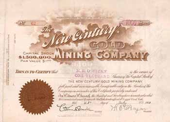 New Century Gold Mining Co.