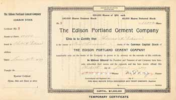 Edison Portland Cement Co.