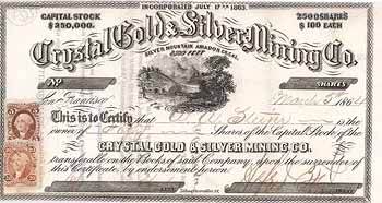 Crystal Gold & Silver Mining Co.