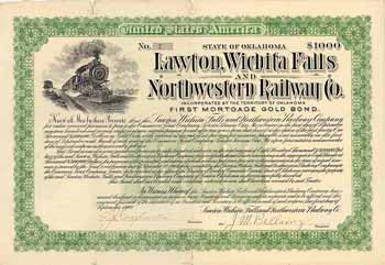 Lawton, Wichita Falls & Northwestern Railway
