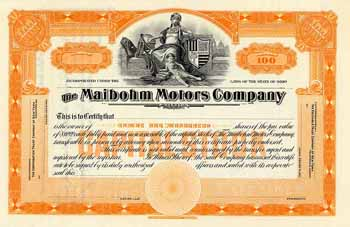Maibohm Motors Co.