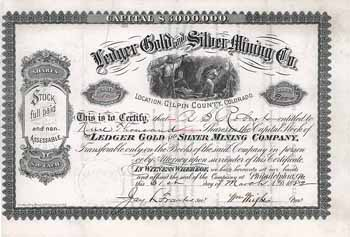 Ledger Gold and Silver Mining Co.