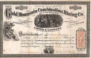 Gold Mountain Combination Mining Co.