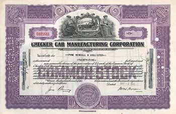 Checker Cab Manufacturing Corp.