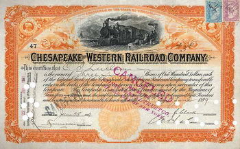 Chesapeake & Western Railroad