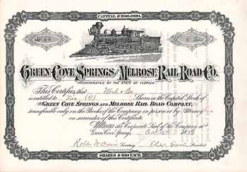 Green Cove Springs & Melrose Railroad