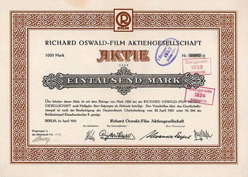 Richard Oswald-Film AG