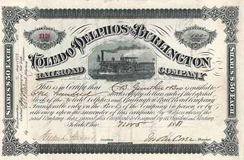 Toledo, Delphos & Burlington Railroad