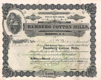 Bamberg Cotton Mills