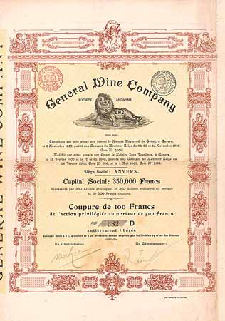 General Wine Company S.A.