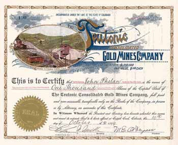 Teutonic Consolidated Gold Mines Co.