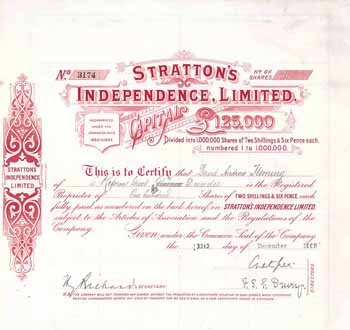 Stratton's Independence Ltd.