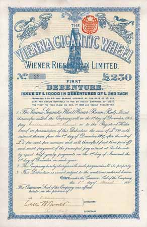 Vienna Gigantic Wheel (Wiener Riesen Rad) Ltd.