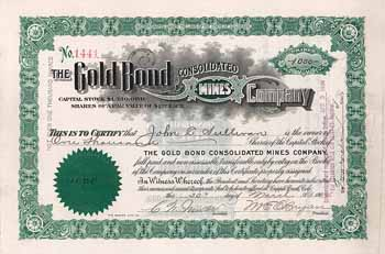 Gold Bond Consolidated Mines Co.