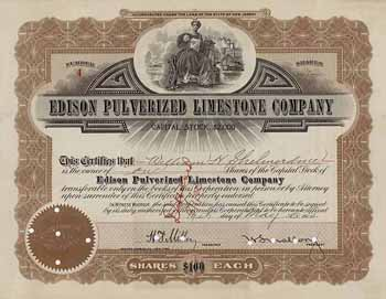 Edison Pulverized Limestone Co.