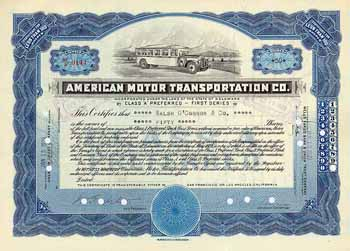 American Motor Transportation Co.