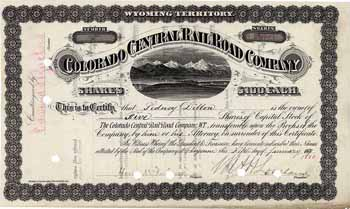Colorado Central Railroad (OU Loveland)