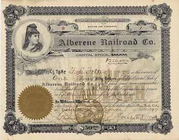 Alberene Railroad