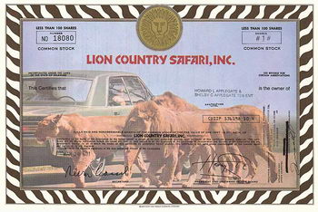 Lion Country Safari, Inc.