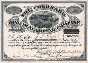 Colorado Mine Developing Co.