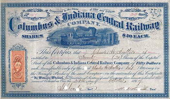 Columbus & Indiana Central Railway