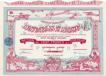 Soc. Francaise d'Automobiles et d'Aviation S.A.