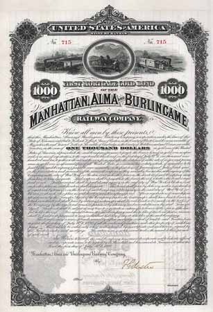 Manhattan, Alma & Burlingame Railway