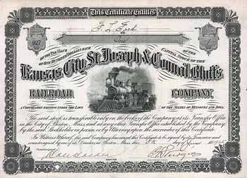 Kansas City, St. Joseph & Council Bluffs Railroad
