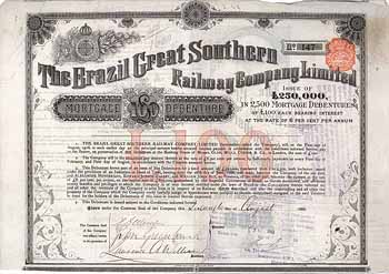 Brazil Great Southern Railway Company Ltd.