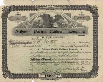 Isthmus Pacific Railroad