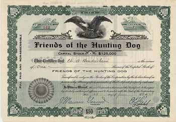 Friends of the Hunting Dog