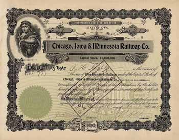 Chicago, Iowa & Minnesota Railway