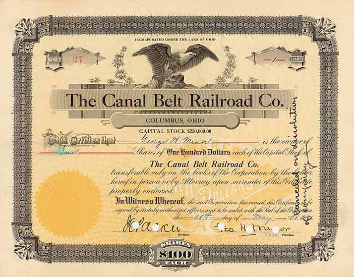 Canal Belt Railroad