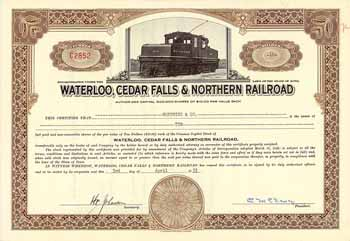 Waterloo, Cedar Falls & Northern Railroad